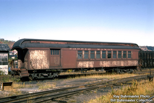 Copper Range 25 in Houghton, Michigan prior to shipment to Mid-Continent Railway Museum