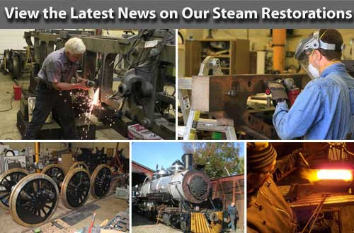 Read the Latest on our Steam Restorations