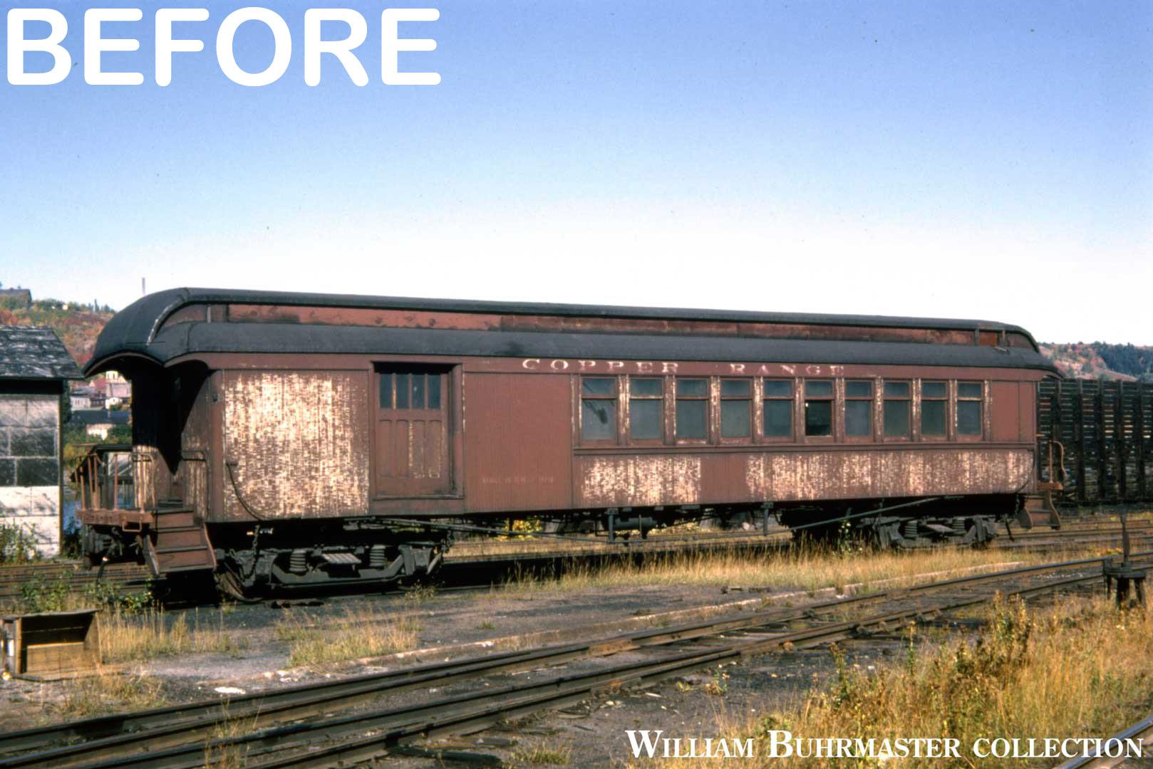 Copper Range #25 Before Restoration
