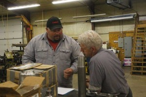 Jeyson Schaller and Steve Roudebush
