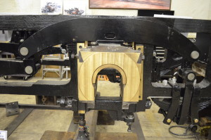 crown brass in driving box