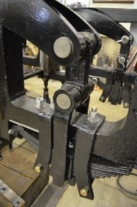 new equalizing beam and pins