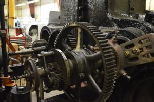Underwood cylinder boring machine