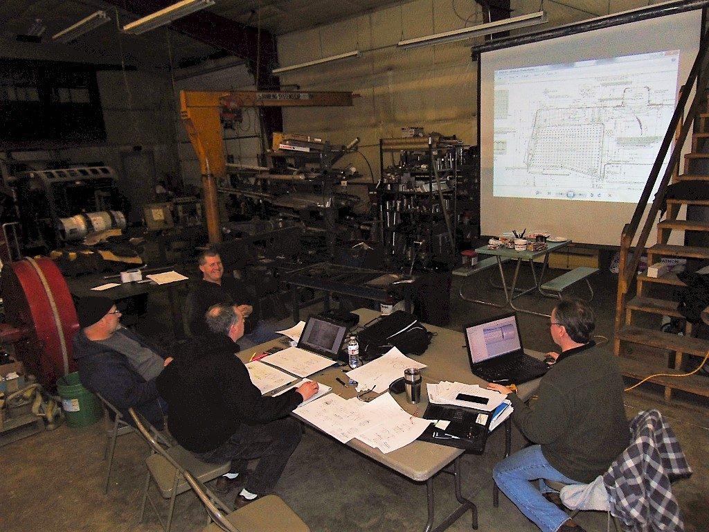 Boiler review meeting