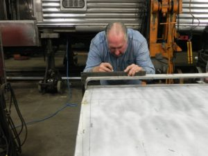 measuring sheet metal