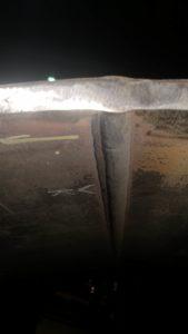 boiler course weld
