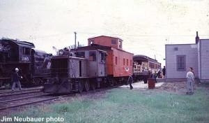 Train at Hillsboro