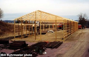 New car shop building; c.1989; Bill Buhrmaster photo