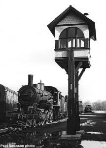 Crossing tower. Paul Swanson photo
