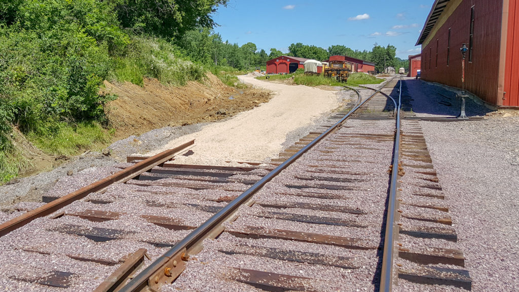 railroad grade