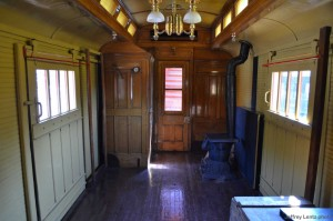 #25 restored interior baggage room, 2013.