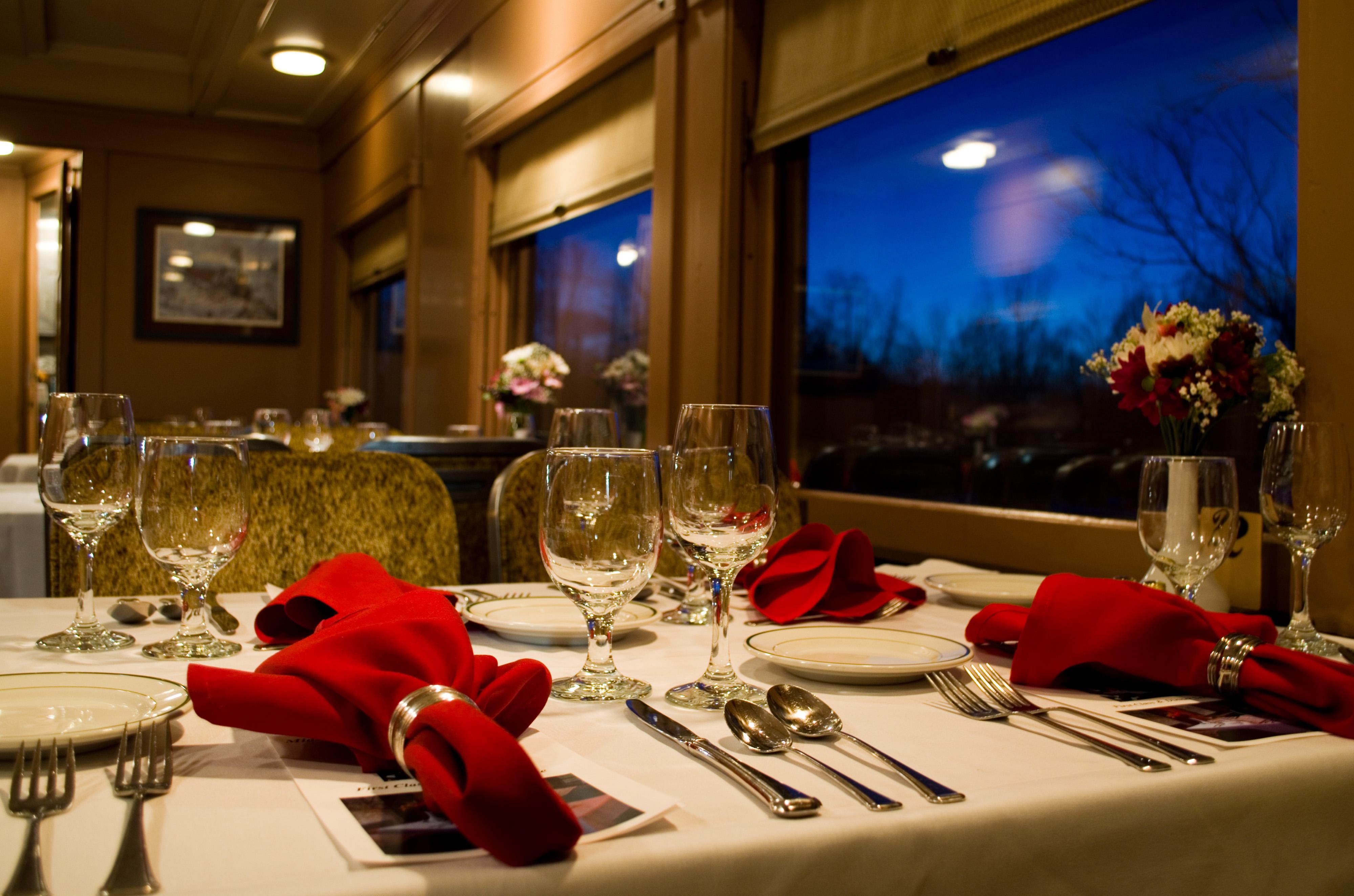 Elegant Dinner Trains