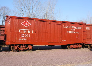 LS&I #2011 after restoration, November, 2012. Bill Buhrmaster photo.