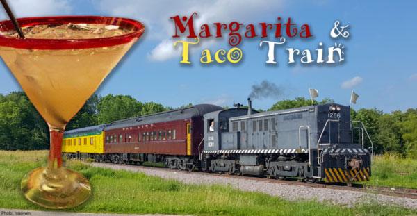 margarita taco train mid continent railway museum