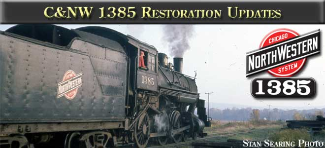 CNW 1385 Restoration Updates