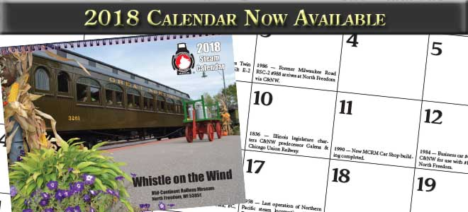 2018 Calendars Now Available