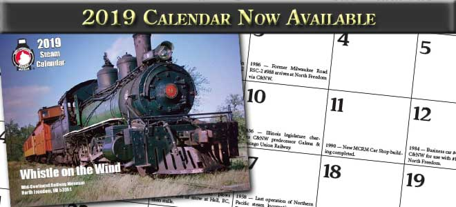 2019 calendar now available