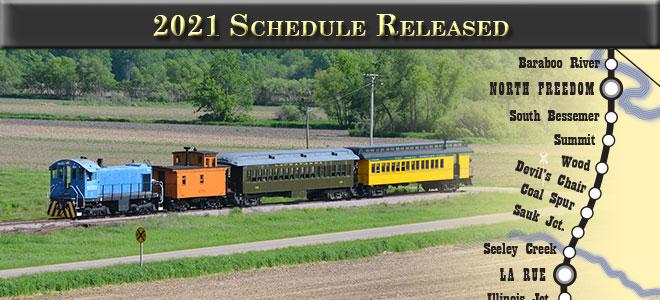 2021 Schedule Released