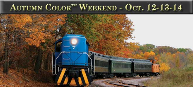 Autumn Color Weekend October 12th through 14th