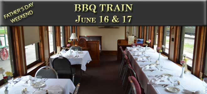 BBQ Train June 16 and 17