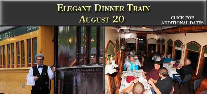 Elegant Dinner Train, August 20, 2016