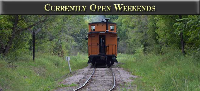 Currently open weekends