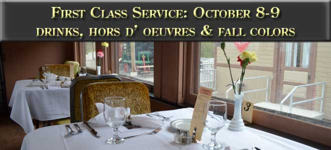 First Class Service - October 8 and 9