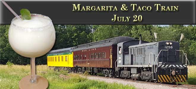Margarita and Taco Train July 20
