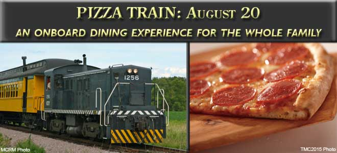 Pizza Train August 20, 2016