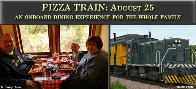 Pizza Train August 25th