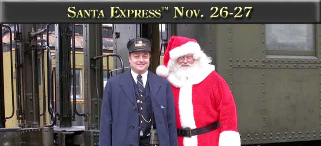 Santa Express, November 26th and 27th