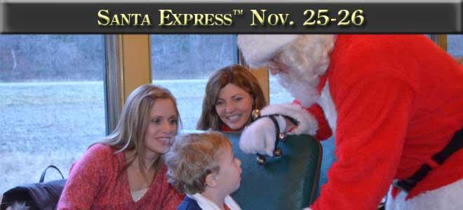 Santa Express November 25th and 26th