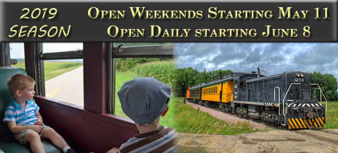 Open Weekends Starting May 11, Open Daily Starting 8