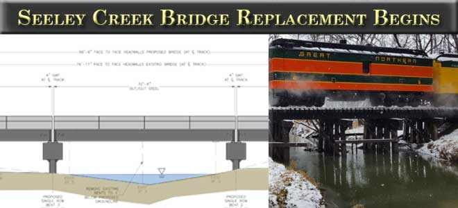 Seeley Creek Bridge Replacement Begins