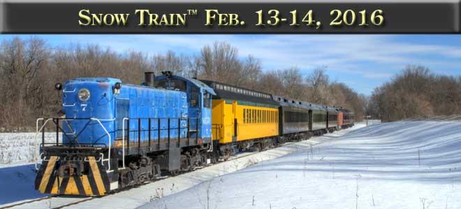 Snow Train. February 13-14, 2016.