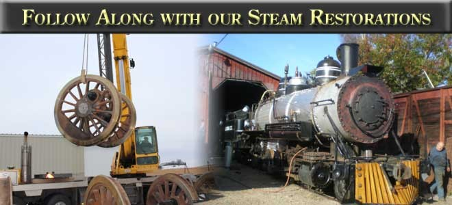 Follow along with our steam restorations