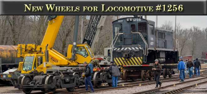Wheels for Locomotive 1256