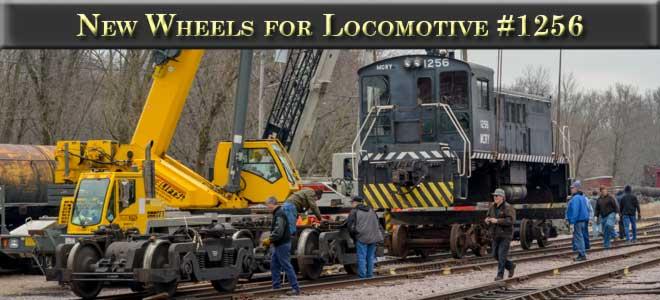 Wheels for Locomotive 1256