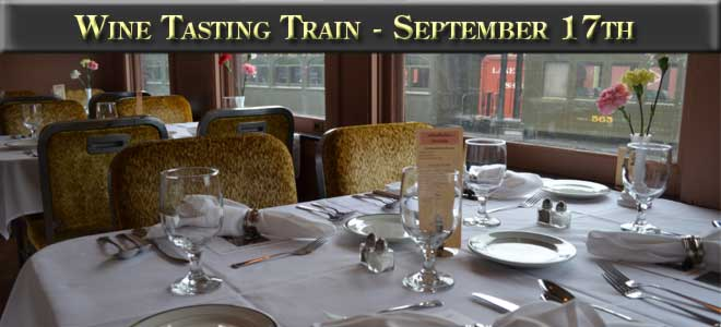 Wine Tasting Train, September 17, 2016