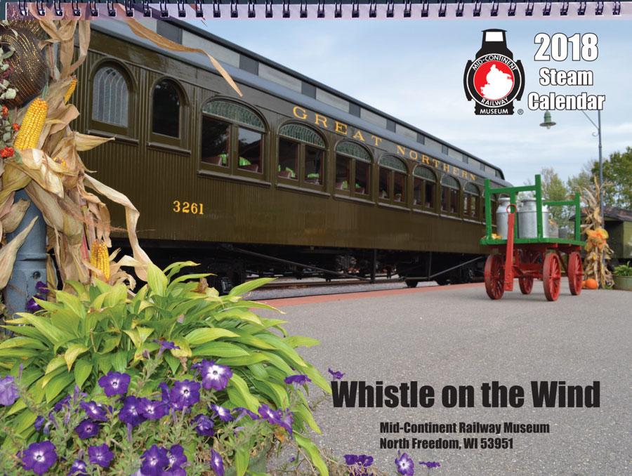 2018 Whistle on the Wind Calendar cover