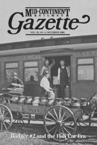 Badger #2 and the Fish Car Era Gazette  issue front cover