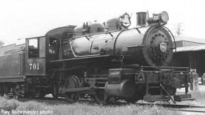 #701 at Hillsboro, Wisconsin, 1962. Phil Weibler photo