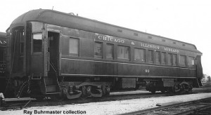 C&IM #90 at Springfield, IL, 1948; M.D. McCarter photo/collection, from Ray Buhrmaster