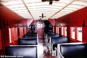 #10802 interior September 13, 1998. Bill Buhrmaster photo
