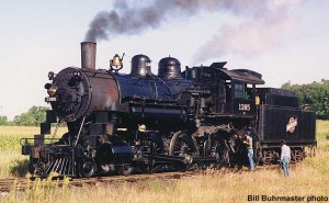 #1385 in service, September 12, 1992. Bill Buhrmaster photo