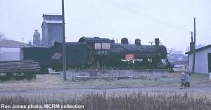 1385 at Hillsboro, WI, Nov. 26, 1961. Ron Jones photo; MCRM collection.