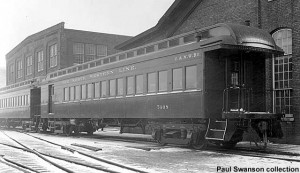 C&NW 7408 (7409 is in background); after shopping at Chicago, 1920s; Joe Follmar collection, via Paul Swanson