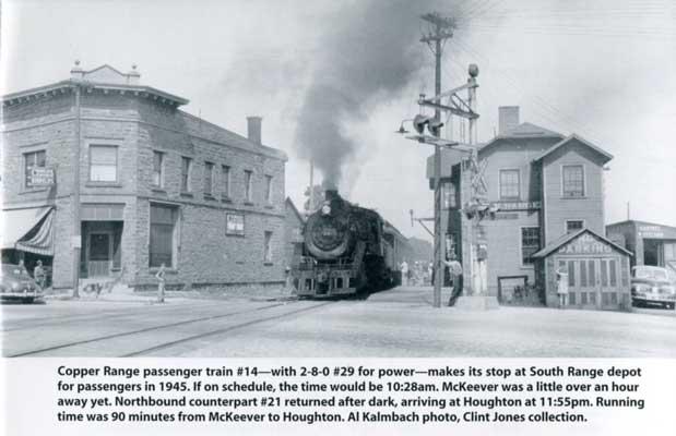 Copper Range steam train