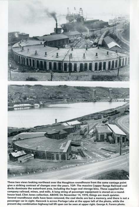 Copper Range Railroad roundhouse