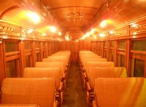 #25's beautifully restored interior, 2013.